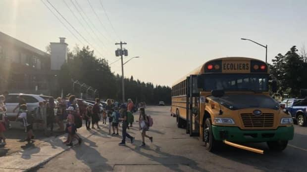 Edmundston, Fredericton and Moncton are the areas known to be facing shortages of substitute bus drivers. (Camille LaCroix/Radio-Canada - image credit)