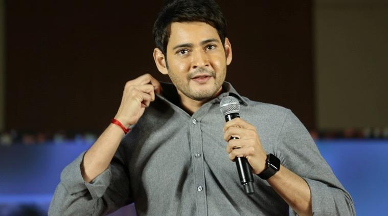 Mahesh Babu at Maharshi success meet