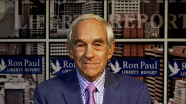 Former GOP presidential candidate Dr. Ron Paul on JPMorgan Chase CEO Jamie Dimon's comments about the Washington 'swamp.'