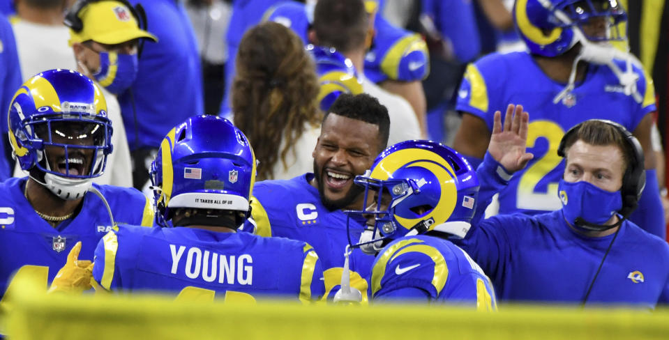 Los ANgeles Rams outside linebacker Kenny Young
