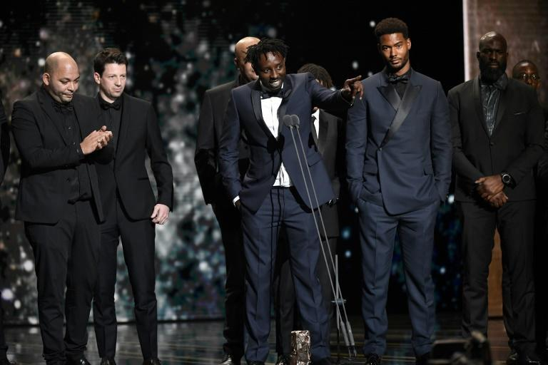 The big winner on the night was the Oscar-nominated 'Les Miserables', set in one of France's deprived and restive suburbs