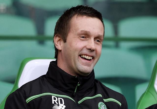 "Football Soccer - Celtic v Inverness Caledonian Thistle - Ladbrokes Scottish Premiership - Celtic Park - 20/2/16 Celtic manager Ronny Deila Action Images via Reuters / Graham Stuart Livepic EDITORIAL USE ONLY. No use with unauthorized audio, video, data, fixture lists, club/league logos or ""live"" services. Online in-match use limited to 45 images, no video emulation. No use in betting, games or single club/league/player publications. Please contact your account representative for further details."