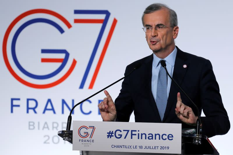 French central banker says any 2020 GDP forecast revision would be up
