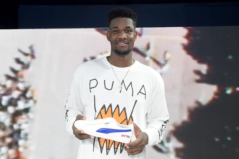 Puma Nabs Basketball s Projected No.1 Draft Pick Deandre Ayton With  Multimillion-Dollar Deal 705829c09