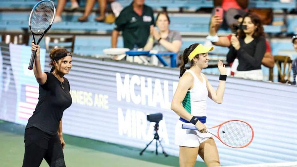 Sania Mirza and Christina McHale reach doubles final at Cleveland