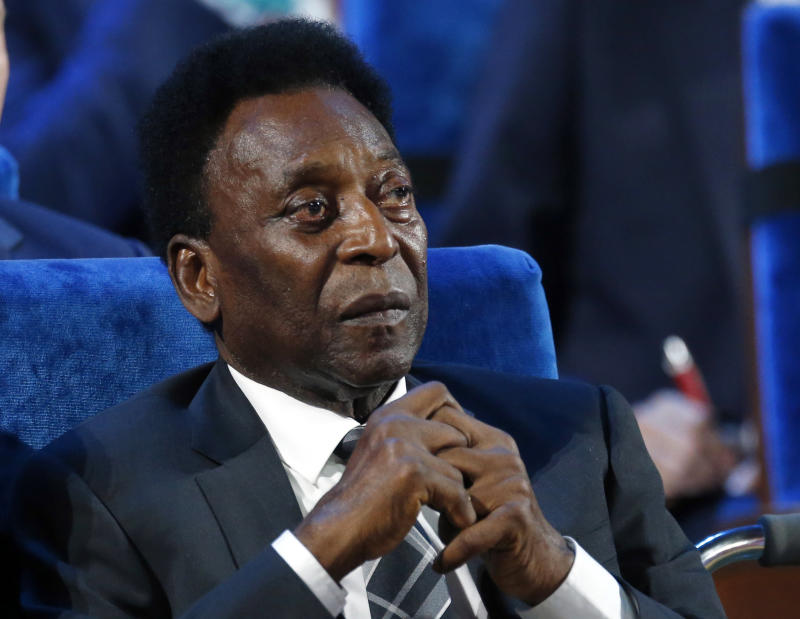 Pelé underwent hip surgery, but is now dealing with depression due to poor health. (AP Photo/Alexander Zemlianichenko, File)