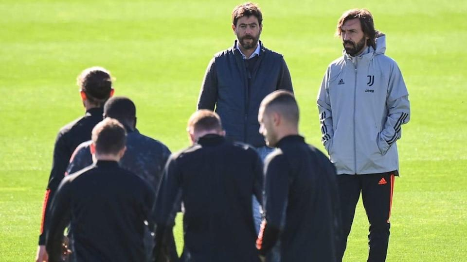 Agnelli con Pirlo | MARCO BERTORELLO/Getty Images