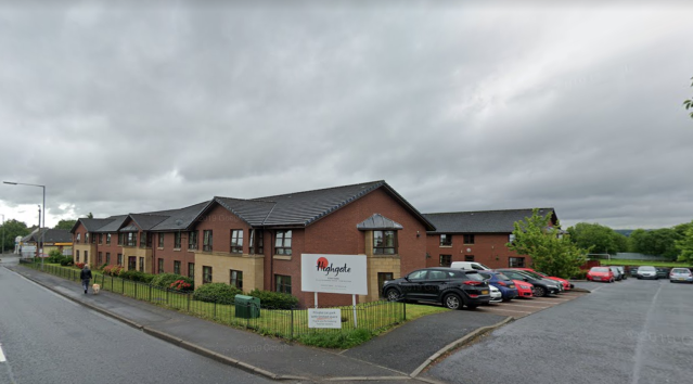 Six people at Highgate Care Home in Lanarkshire have been diagnosed with coronavirus. (Google Maps)