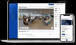 New solution blends physical and virtual workspace experiences to fuel collaboration and productivity, and protect employee health, safety and wellness.