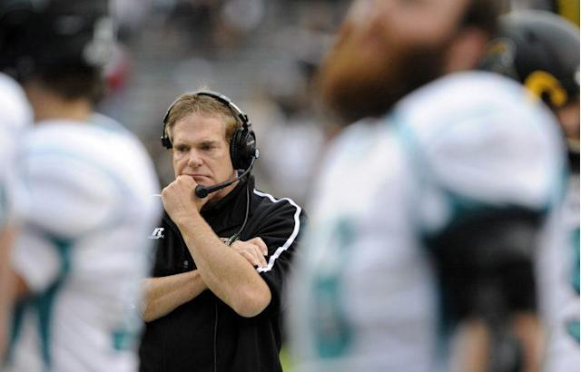 Coastal Carolina coach Joe Moglia missed the 2017 season but will be back in 2018. (Getty)