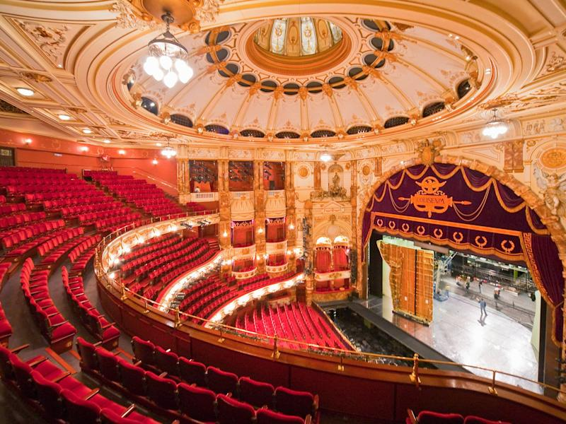 London's Coliseum theatre recently banned audience members from taking in any food or drink bought outside the venue: Alamy