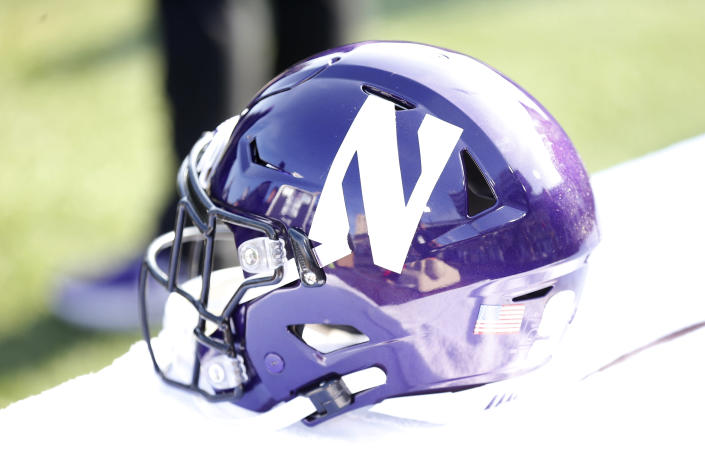 Northwestern is pausing its football workouts after a positive COVID-19 test result. (Justin Casterline/Getty Images)