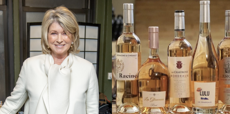 """<p>Let's face it: Martha Stewart is America's go-to when it comes to cooking and entertaining, and wine drinking more than fits this bill. So when she launched <a href=""""https://www.delish.com/entertaining/wine/g31669054/wine-subscription/"""" rel=""""nofollow noopener"""" target=""""_blank"""" data-ylk=""""slk:Martha Stewart Wine Co."""" class=""""link rapid-noclick-resp"""">Martha Stewart Wine Co.</a> the goal was to help consumers learn about and easily access wines from around the world and help pair bottles with favorite meals or moments. Best of all: Martha tastes and curates each and every wine on her site.</p><p><a class=""""link rapid-noclick-resp"""" href=""""https://go.redirectingat.com?id=74968X1596630&url=https%3A%2F%2Fmarthastewartwine.com%2F&sref=https%3A%2F%2Fwww.delish.com%2Ffood%2Fg32949671%2Fcelebrity-alcohol-brands%2F"""" rel=""""nofollow noopener"""" target=""""_blank"""" data-ylk=""""slk:BUY NOW"""">BUY NOW</a> <em><strong>prices vary, marthastewartwine.com</strong></em></p>"""