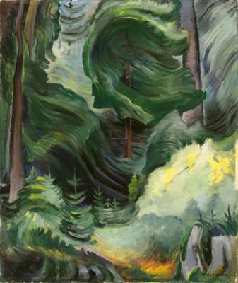 Swirl, the dynamic 1937 canvas by Emily Carr sold for $2,341,250 at Heffel's spring live auction. (CNW Group/Heffel Fine Art Auction House)