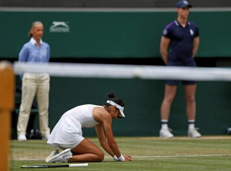 Emma Raducanu reached the fourth round of Wimbledon just months after the 18-year-old Briton took her school leaving exams