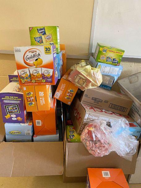 PHOTO: School supply donations have come from nearly 500 individuals, local groups, and businesses said Katie Couch. (Courtesy of Katie Couch)
