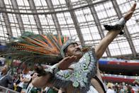 <p>World Cup fans: Best costumes and most colourful supporters </p>