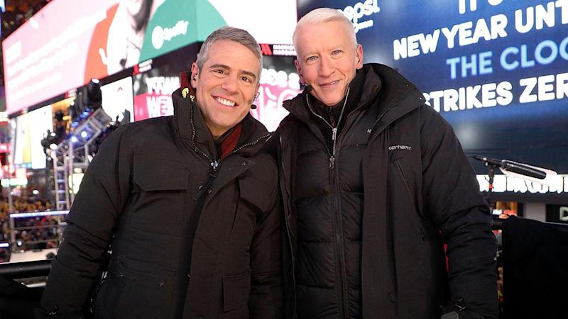 He co-hosted the evening with pal Andy Cohen.
