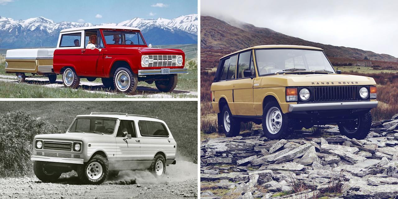 <p>Practically everyone these days owns a crossover or an SUV—that doesn't necessarily make them uncool, just very common. Want to stand out from the crowd? Go for a classic 4x4 from a time when most Americans were driving cars, not trucks and SUVs. These vintage off-roaders hail from eras when something tall and wagon shaped was expected to have actual four-wheel-drive capability, not merely an adventurous image. </p><p>There's rich variety available, too. We gathered this list of 20 old-style 4WD vehicles that are tough enough to get dirty and also offer the just-right spike of nostalgia that makes every mundane trip to the corner grocery store fun in a way modern SUVs just can't match (excepting, of course, the Jeep Wrangler). Click through for each model's history and a look at current values.</p>