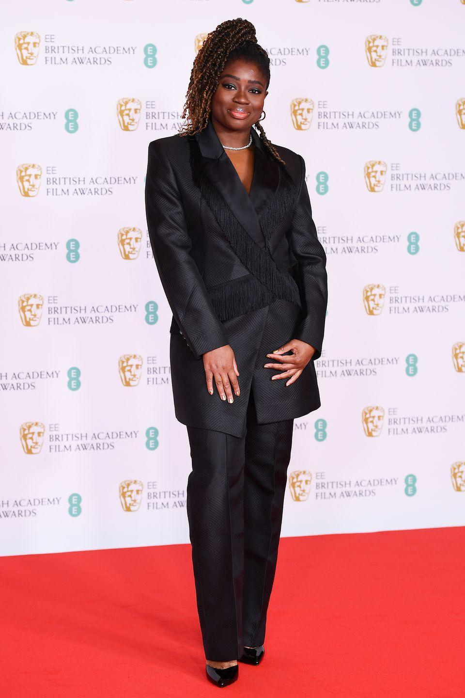 <p>Clara Amfo proved the power of a black suit. </p>