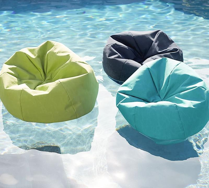 Astounding Pottery Barn Is Selling Bean Bag Pool Floats For Your Machost Co Dining Chair Design Ideas Machostcouk