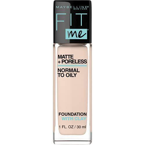 """<p><strong>Maybelline New York</strong></p><p>amazon.com</p><p><strong>$3.46</strong></p><p><a href=""""https://www.amazon.com/dp/B00PFCSUNC?tag=syn-yahoo-20&ascsubtag=%5Bartid%7C10072.g.36789682%5Bsrc%7Cyahoo-us"""" rel=""""nofollow noopener"""" target=""""_blank"""" data-ylk=""""slk:Shop Now"""" class=""""link rapid-noclick-resp"""">Shop Now</a></p><p>This hasn't been a great skin year for everyone. Eliminate pores, blemishes, and oily patches with this matte foundation. Who says you need to be in front of a camera to be camera-ready?</p>"""