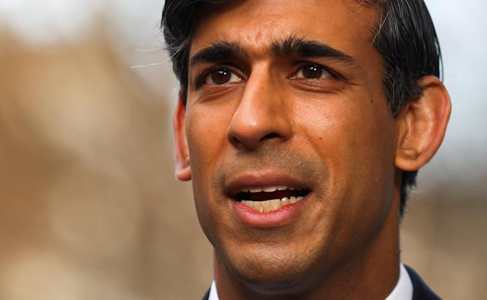 <p>Campaigners have called on Rishi Sunak to use the upcoming Budget to stop banks from funding fossil fuels</p> (REUTERS)