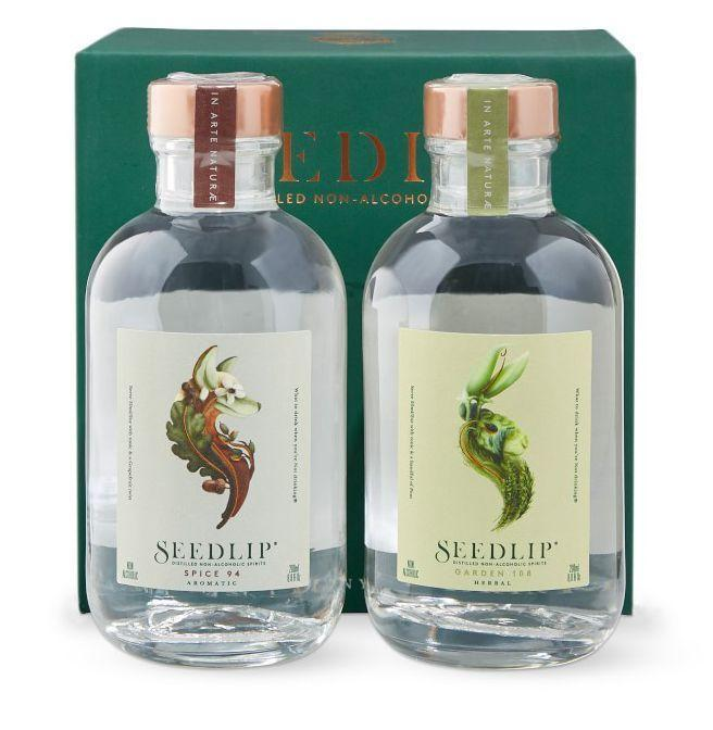 "<p><strong>Seedlip</strong></p><p>williams-sonoma.com</p><p><strong>$45.95</strong></p><p><a href=""https://go.redirectingat.com?id=74968X1596630&url=https%3A%2F%2Fwww.williams-sonoma.com%2Fproducts%2Fseedlip-non-alcoholic-spirit-gift-set&sref=https%3A%2F%2Fwww.esquire.com%2Flifestyle%2Fg19621074%2Fcool-fathers-day-gifts-ideas%2F"" rel=""nofollow noopener"" target=""_blank"" data-ylk=""slk:Buy"" class=""link rapid-noclick-resp"">Buy</a></p><p>Seedlip's no-ABV spirits will entice the dad who's trying to cut back. One leans spicier, while the other is a fresh, herbal bouquet. Both can be sipped on their own or mixed with a little seltzer, from sun-up to sun-down.</p>"