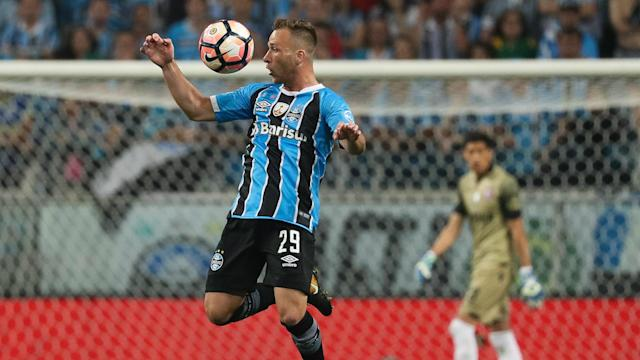 Although no deal has yet been completed with Barcelona for Arthur, Gremio's president says the transfer is close.