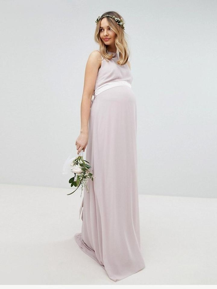 cf5d54b4afce 25 Maternity Bridesmaids Dresses for Your Pregnant Bridesmaid