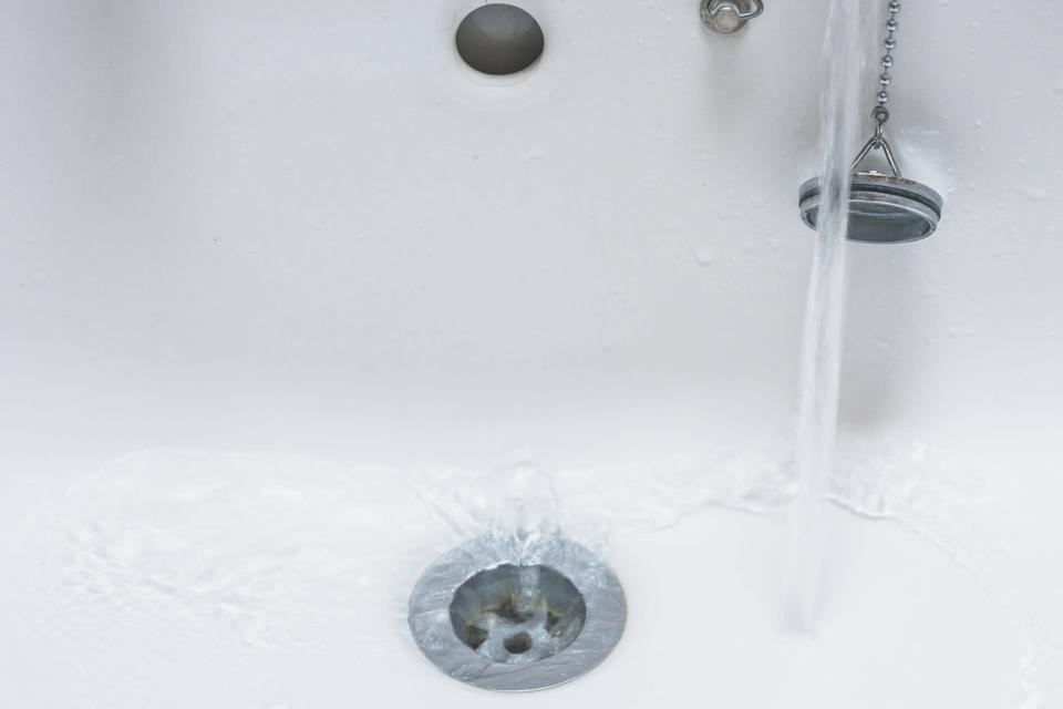 Say goodbye to clogged tub drains with hair after using the TubShroom. (Photo: Getty Images)