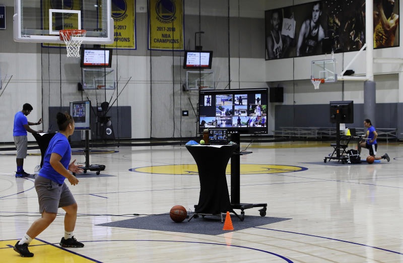 From Iceland's capital, 11-year-old plays in Warriors camp