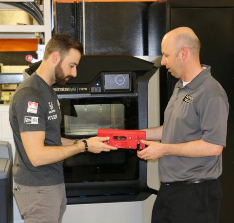 Arrow Schmidt Peterson Motorsports Takes Winner's Circle with High Performance Additive Manufacturing from Stratasys