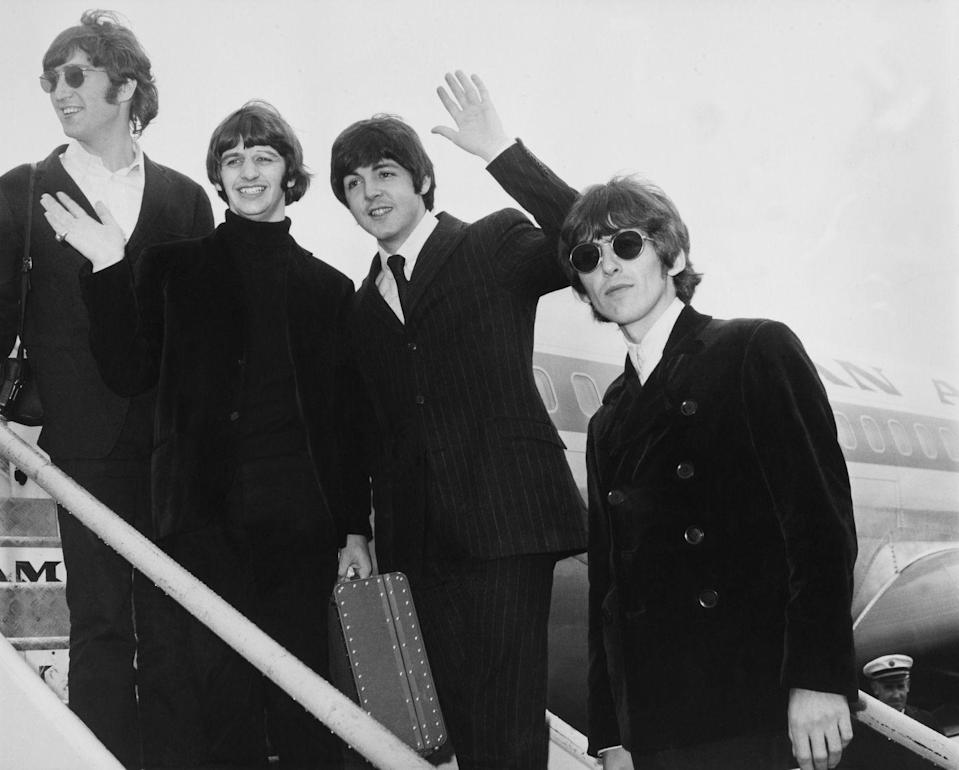 """<p>If you remember the 1960s frenzy known as """"Beatlemania"""" as a first-hand participant, you're definitely a boomer. The Beatles catapulted into global superstardom around 1963, and their then-unprecedented fan base is still an icon of the era. </p><p><strong>RELATED:</strong> <a href=""""https://www.goodhousekeeping.com/life/entertainment/g2518/hit-songs-of-summer/"""" rel=""""nofollow noopener"""" target=""""_blank"""" data-ylk=""""slk:The Quintessential Best Summer Songs From the Last 60 Years"""" class=""""link rapid-noclick-resp"""">The Quintessential Best Summer Songs From the Last 60 Years</a> </p>"""