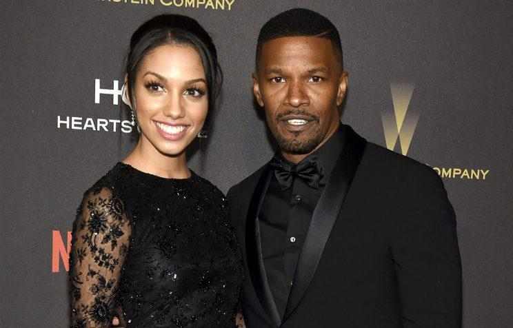 Corinne Foxx occasionally accompanies dad Jamie Foxx on the red carpet. (Photo: Chris Pizzello/Invision/AP)