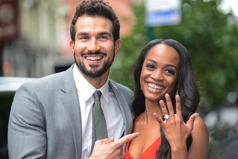 Bachelorette Rachel Lindsay Is Wearing a Convertible Wedding Dress So She Can Have Two Looks in One