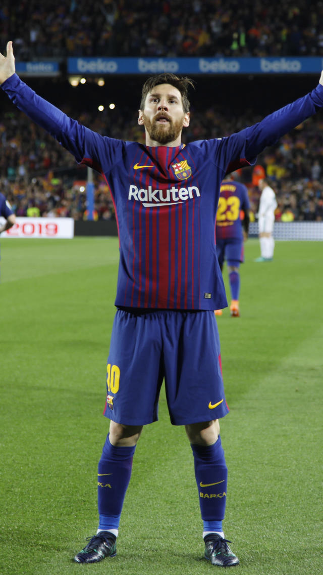 """When you think of the best soccer player on the planet, a select few come to mind, and <a href=""""https://www.instagram.com/leomessi/?hl=en"""" rel=""""nofollow noopener"""" target=""""_blank"""" data-ylk=""""slk:Lionel Messi"""" class=""""link rapid-noclick-resp"""">Lionel Messi</a> is definitely on that list! He's a goal-making machine, who has made his fourth World Cup appearance with Argentina this year. While he hasn't delivered a showstopping Messi moment, fans are still rooting for the incredible player. Leo Messi's soccer career began when he was a teenager, at 13 years old, to be exact. He signed his first contract with FC Barcelona to play in its youth squad. Messi excelled in soccer from a young age, but struggled with a hormone deficiency that stunted his growth. The Spanish team paid for his treatments and soon, at just 17, he was rising the ranks to the top team. The 31-year old soccer phenomenon has scored over 500 goals while playing for Barcelona and has taken home 30 trophies, including five Ballons d'Or for best player. Is it too soon to give Messi the GOAT title? He also holds the record for the most goals on the Argentinian national team. He led the team to a gold medal at the 2008 Olympics in Beijing and to the 2014 World Cup finals. But he still doesn't have a World Cup in his trophy collection. Messi is currently the highest-paid footballer in the world. He earned a massive $111 million paycheck that included his salary as a player on the FC Barcelona squad and his endorsements. He has a lifetime endorsement deal with Adidas. Yes, we said lifetime! His social media presence is also massive. He has more than 94 million Instagram followers. Kylie Jenner has 110 million and Kim Kardashian has 113 million. Messi is clearly keeping up with these Insta queens. The father of three stays connected with fans, sharing photos and video of his adorable kids cheering on their famous dad — too cute!"""