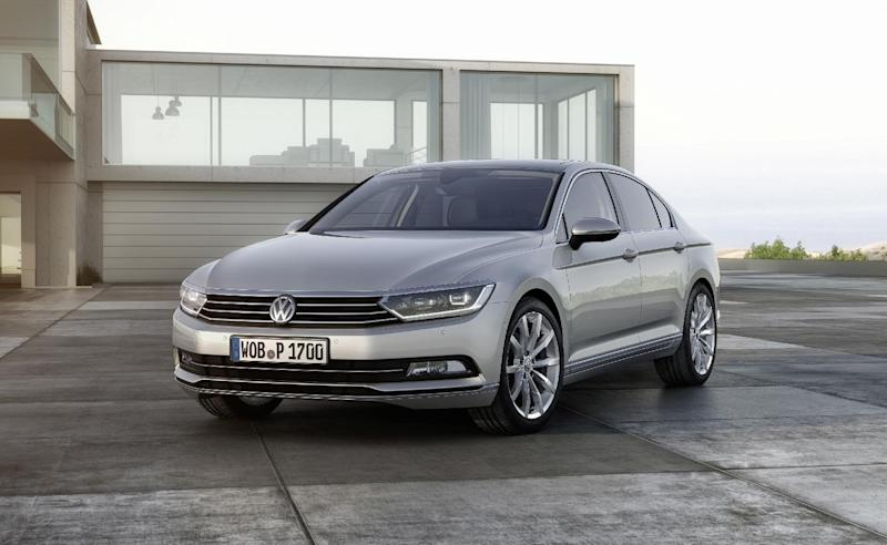 8. The Volkswagen Passat