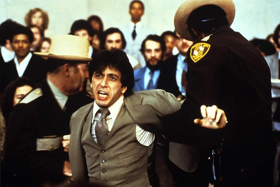 """When defense lawyer Arthur Kirkland (<strong>Al Pacino</strong>) loses his cool in the 1979 courtroom drama …<em>And Justice For All</em>, he scolds the judge with this legendary takedown. Or maybe not. Our memories get some of the words right, but less than you might think. What Pacino actually screams at Jack Warden is, """"<em>You're</em> out of order! <em>You're</em> out of order! The whole <em>trial</em> is out of order! <em>They're</em> out of order!"""""""