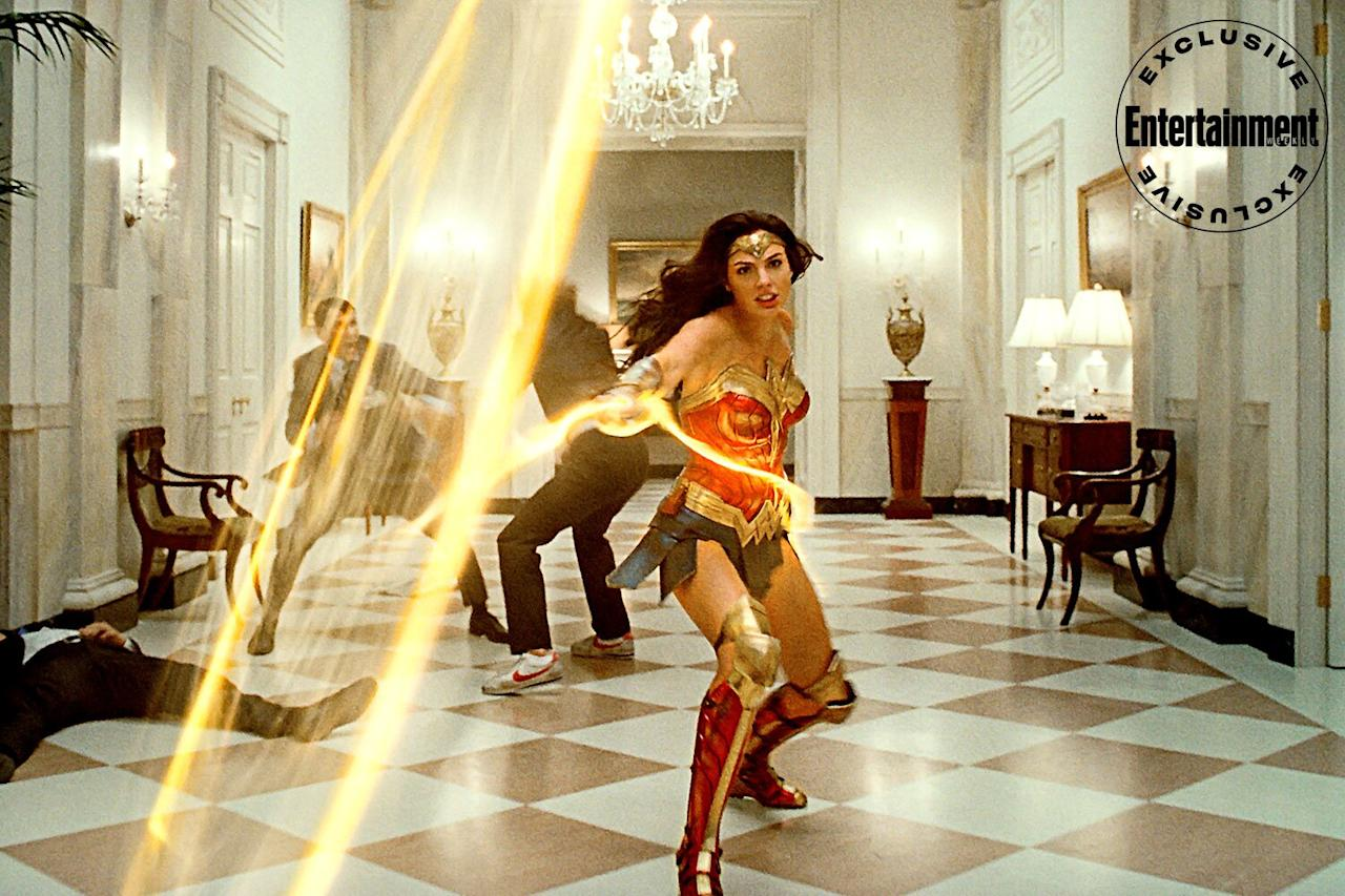 Wonder Woman takes her Lasso of Truth to the capital.