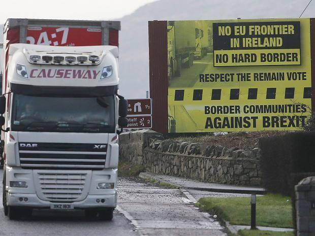 Brexit: High-tech solution to avoid hard Northern Ireland border 'decade away', leaked Home Office document says