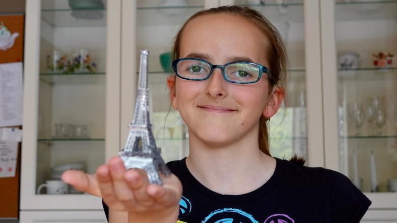 Ottawa girl, facing vision loss, to take in the City of Light
