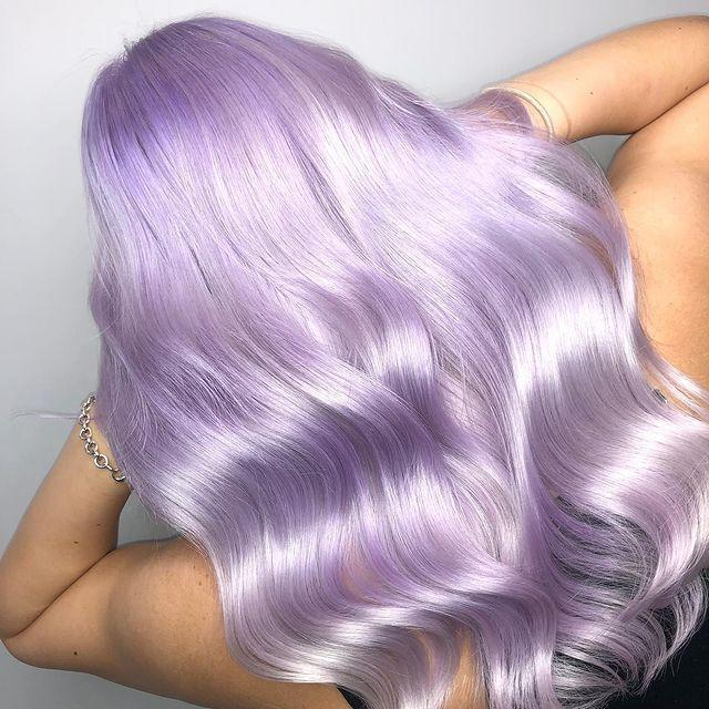 """<p>For hair so shiny it looks straight out of a Manga film use Olaplex when colouring to prevent breakage and boost gloss.</p><p><a href=""""https://www.instagram.com/p/B2r7MA9H5DX/"""" rel=""""nofollow noopener"""" target=""""_blank"""" data-ylk=""""slk:See the original post on Instagram"""" class=""""link rapid-noclick-resp"""">See the original post on Instagram</a></p>"""