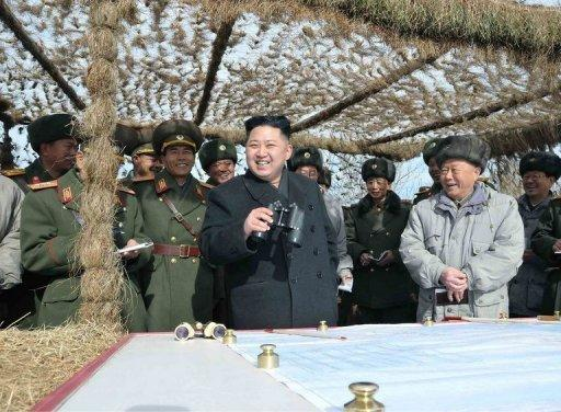 Kim inspected the Strategic Rocket Force Command