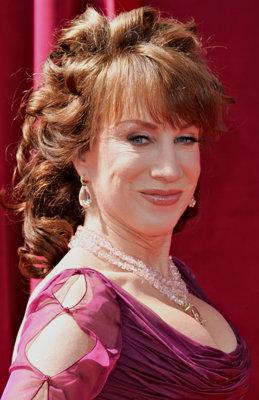 Kathy Griffin went all out on the curls in 2002. (Photo by Dan MacMedan/WireImage)