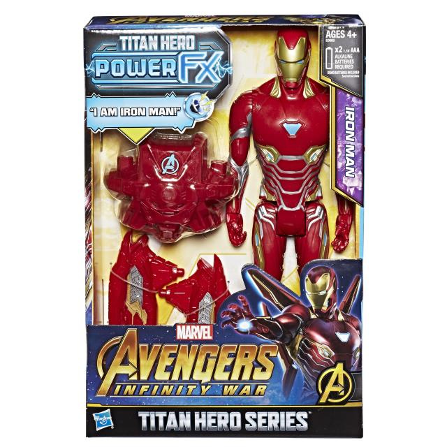 Iron Man Titan Hero Power FX figure (Photo: Hasbro)