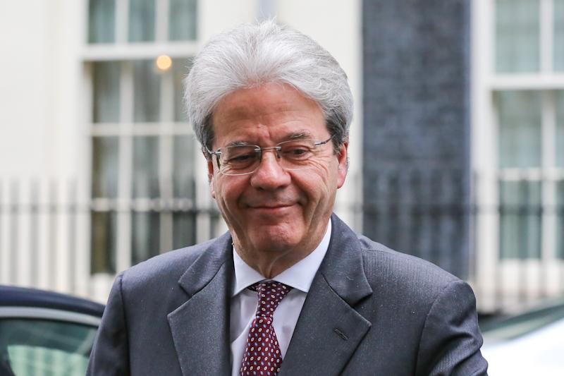 Paolo Gentiloni the former Italian Prime Minister is seen in Downing Street, London, UK. (Photo by Dinendra Haria / SOPA Images/Sipa USA)