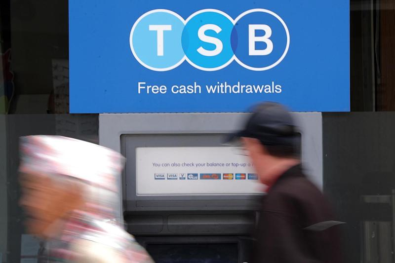 TSB has apologised for another glitch: PA Wire/PA Images