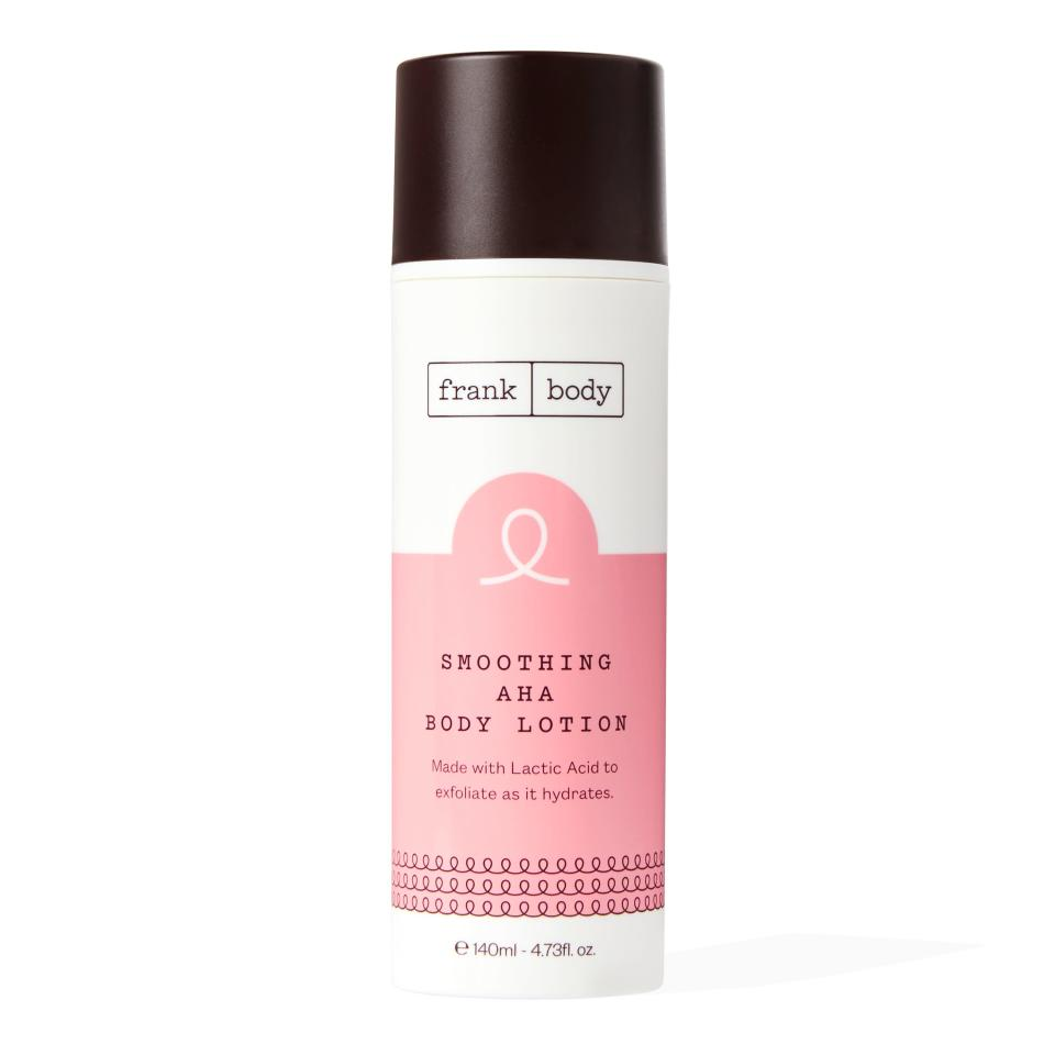 Frankbody Smoothing AHA Body Lotion - Credit: Courtesy of the Brand