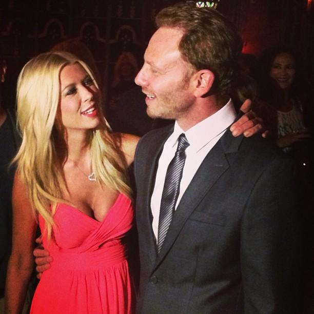 #Sharknado friendship. #TaraReid #IanZiering